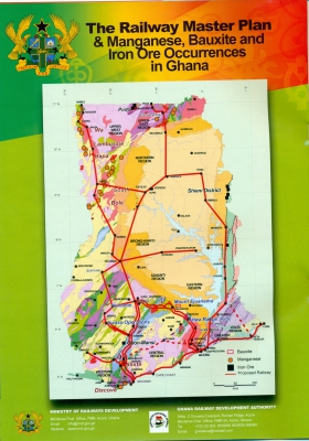 Ministry of Railways Development - Ghana - railway maps of ghana